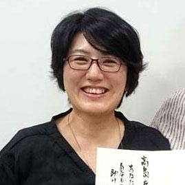 高嶋鹿絵子さん 自営業
